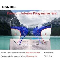 Прогрессивные многофокальные очки премиум для чтения, близорукость для мужчин, линзы по рецепту, прогрессивная защита от излучения 1,56/1,61/1,67