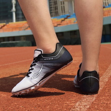 Field-Shoes Track Sprint-Spikes And Men Sports-Light Men's High-Jump
