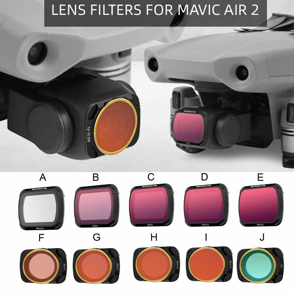 Optical Glass MC UV Lens Photography Filter Waterproof and Oil-proof UV Lens Filter for DJI Mavic 2 Zoom
