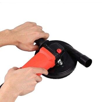 5-Inch Pneumatico Grinder Polvere Strumento Di Copertura Per Marmo Granito Cemento Ingegneria Macinazione Di Pietra Di Raccolta Della Polvere