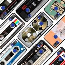 Black Silicone Cover Classical Old Cassette tape  for Xiaomi Redmi Note 8 7 6 5 4X 4 K20 Pro 7A 6A 6 S2 5A Plus Phone Case black silicone cover classical old cassette tape for xiaomi redmi note 8 7 6 5 4x 4 k20 pro 7a 6a 6 s2 5a plus phone case