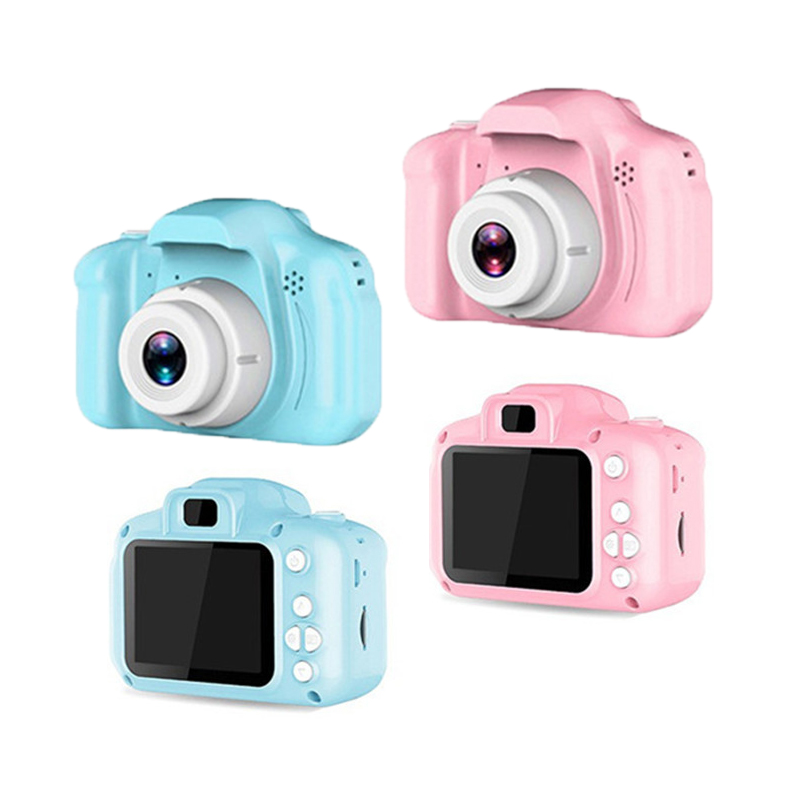 Children Mini Toys Camera Digital HD Screen Chargable Camera Educational Photography Props Xmas Gift For Kids