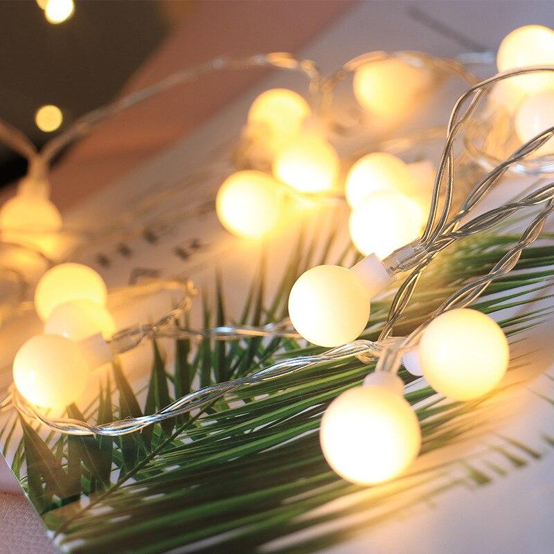 Cordas LED Luzes De Fadas Natal Guirlanda