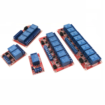 цена на 12v 1  2  4   6  8-way  Relay Module with Optocoupler Isolation Support High and Low Level Trigger Development Board