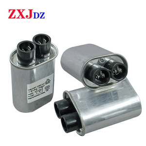 1pc 1.00UF 2100V microwave high voltage capacitor high voltage capacitor small size(China)