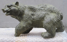 "JP S1151 14"" Aesthetic Art artistic sculpture Bronze Wild Animals Long hair Bear Statue(China)"