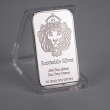 Bullion-Bars Trust-Coin Silver USA One-Troy Souvenir Metal We with Display-Case 999-Fine