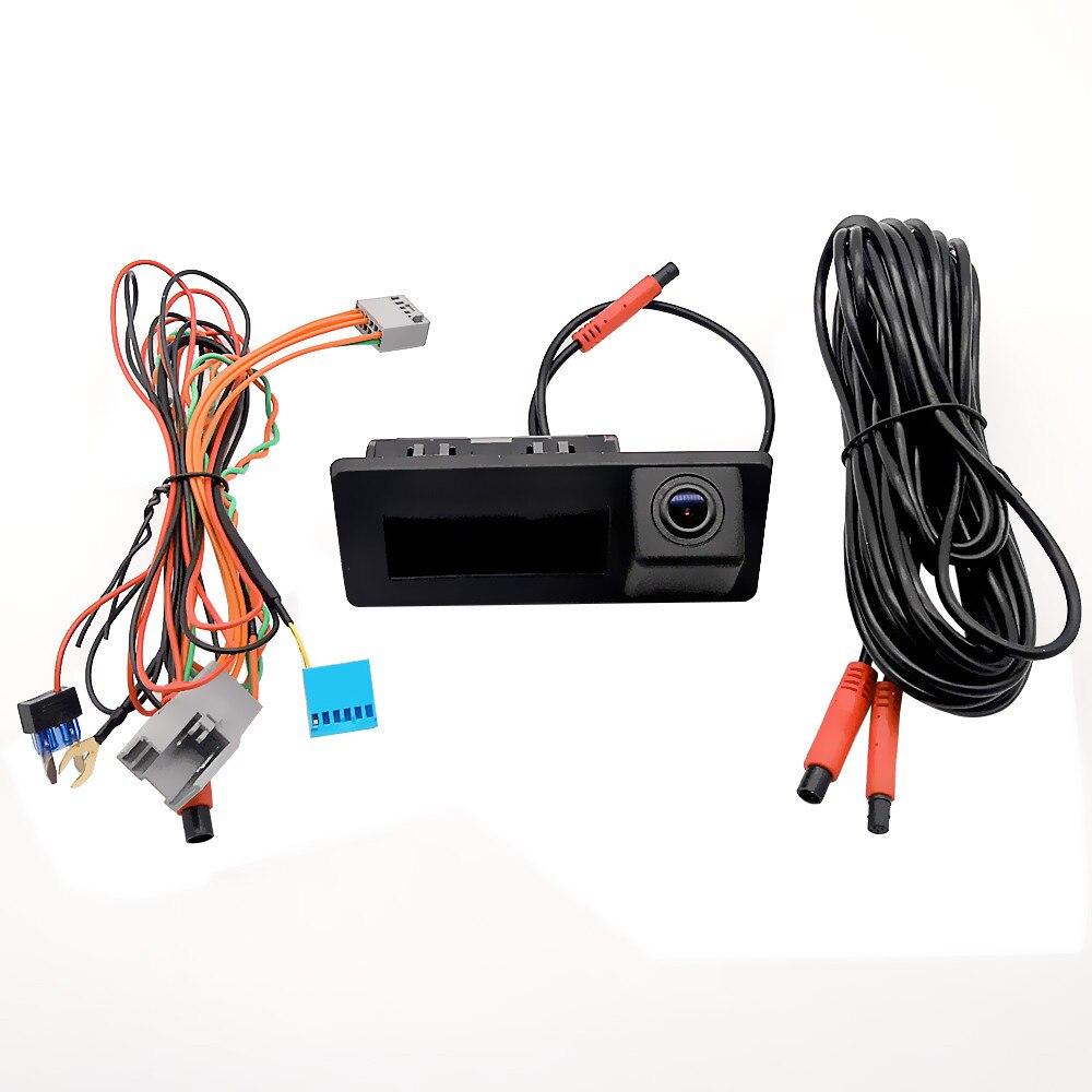 Оригинальный Экран обновления динамический траектории багажнике автомобиля ручка заднего вида Камера для Audi A3 S3 A4L A5 Q2 Q3 Q5 Q7/VW Tiguan Touran