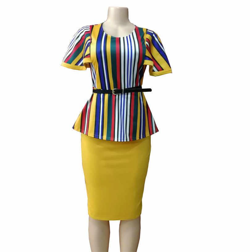 Afrikanische Kleidung Traditionelle 2019 Neue Ankunft Mode Stil Afrikanische Frauen Plus Größe Anzüge