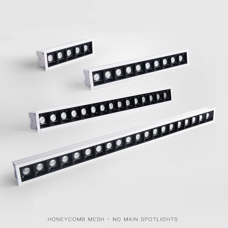 Imagem do esporte luz de fundo luz de fundo luz de fundo linear 10w 20 30 40 sala de estar