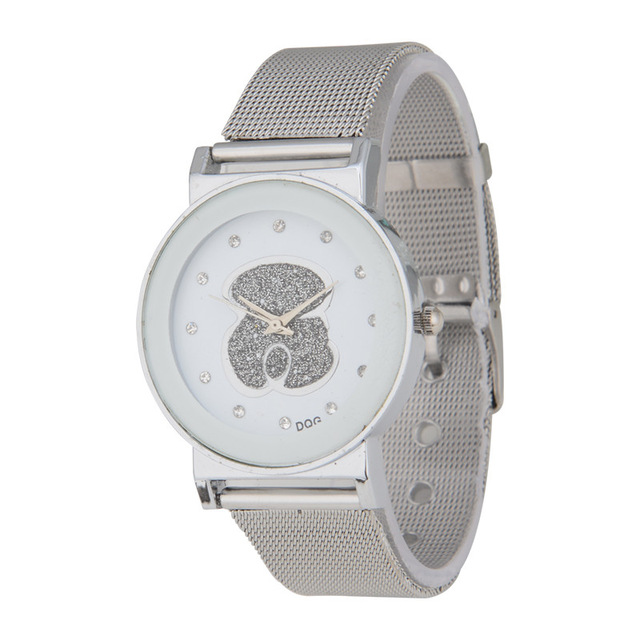 Relogio Feminino 2019 New Women Watches Fashion Brand Bear Watch Women Men Casual Quartz Wristwatch Reloj Mujer
