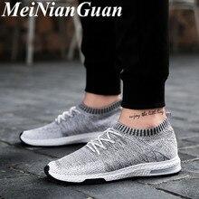 Big Size Male Sneakers Light Soft Comfortable Men Shoe Slip