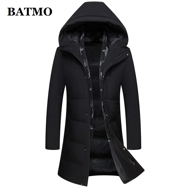 Batmo 2020 new arrival winter high quality 90% white duck down jacket men,winter men's coat ,plus-size M-XXXL 9902