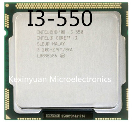 Intel Core i3-550 I3 550 Dual-Core Processor (4M Cache, 3.20 GHz) LGA1156 Desktop CPU 100% working properly Desktop Processor