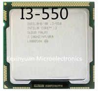 Intel Core i3-550 I3 550 Processore Dual-Core (4M Cache, 3.20 GHz) LGA1156 Desktop CPU 100% di lavoro correttamente Desktop Processore