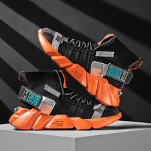 Men Sneakers Sports-Shoes Design Socks Shoes-Trend High-Top New Fitness Lightweight Hot-Sale