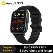 Amazfit Gts Globale Versione di Smart Orologio Smartwatch Gps Corsa E Jogging di Frequenza Cardiaca di Sport 5ATM Impermeabile Braccialetto Amoled Amazfit