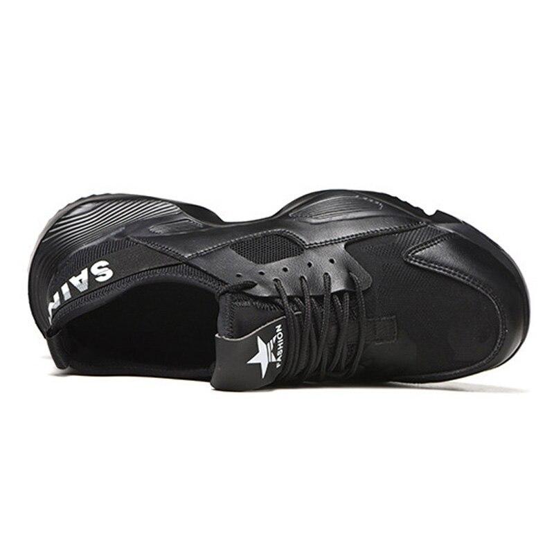 Manlegu/Новая рабочая безопасная обувь, неразрушаемая безопасная обувь, мужские зимние кроссовки, дышащая обувь, безопасные ботинки со стальны...