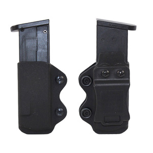 Kydex IWB Gun Holster Magazine Pouch Case for Glock 17 19 23 26 27 31 32 33 Airsoft Pistol Mag Pouch Holster Concealed Carry