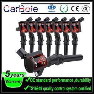 Image 1 - 8 Uds bobinas de encendido para Ford Lincoln mercurio V8 V10 4.6L 5.4L C1454 DG508 A780X12300HA C409 C469 C471 D1FZ1