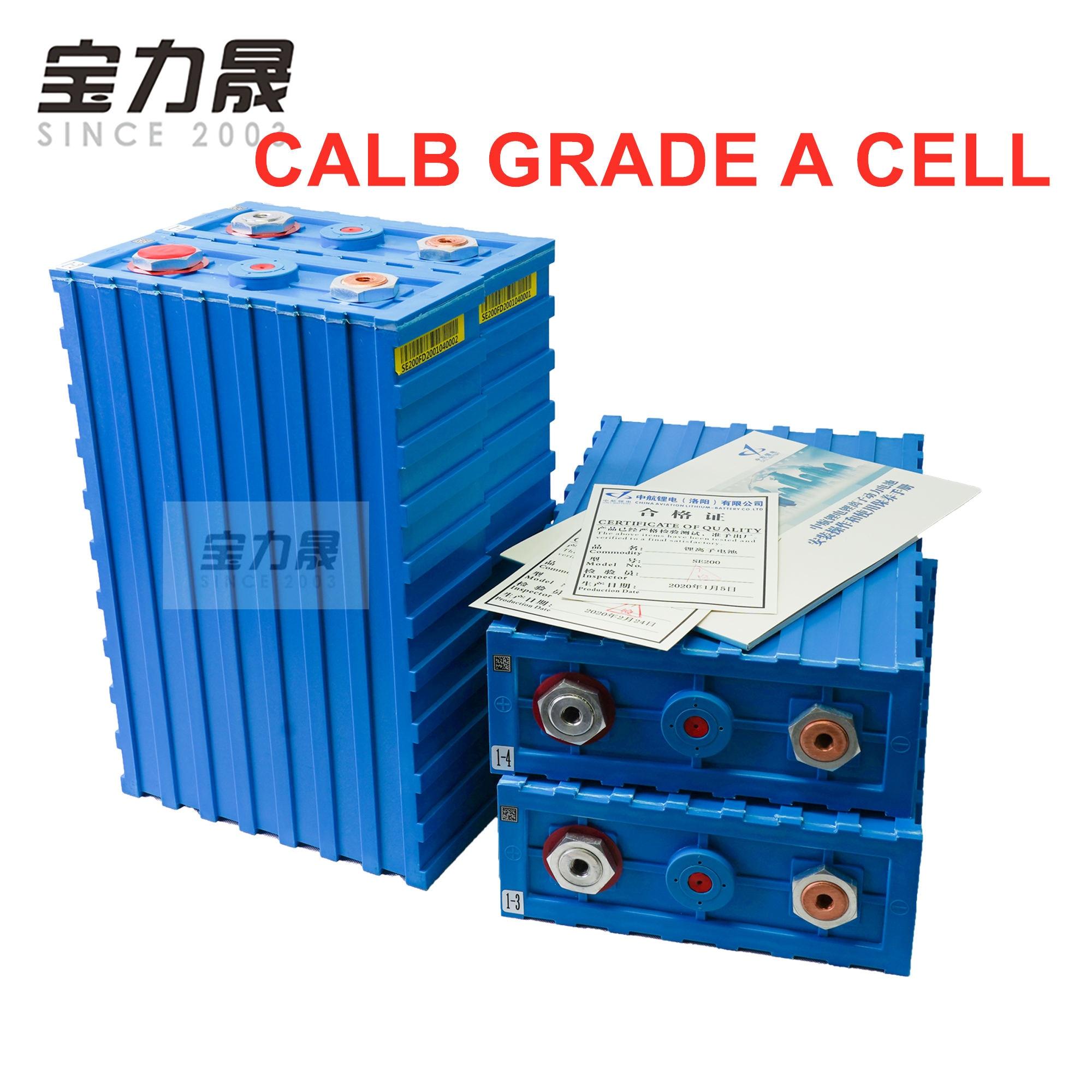 Pilas recargables grado A LiFePO4, celda de 3.2V200ah 2020, nuevo plástico CALB SE200FI 12v24V para pack EV solar US EU AU libre de impuestos