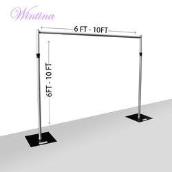 Wintina Pijp En Drapeer Kit/Achtergrond-6-10 Ft Tall/Drape Ondersteunt