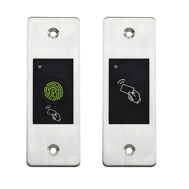 Gate Door lock RFID Metal Fingerprint Access Control scanner 800 users Mini Metal IP66 Waterproof Embedded Fingerprint reader