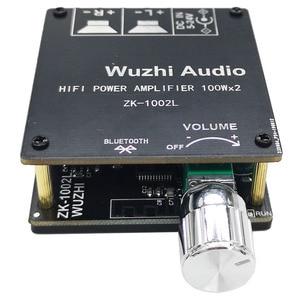 Image 5 - ZK 1002L 100WX2 Mini Senza Fili Bluetooth 5.0 Audio Scheda di Potenza Amplificatore Digitale Stereo Amp DC 12V 24V