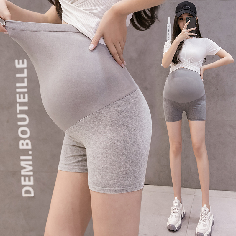 928# Summer Thin Modal Maternity Short Legging Cotton Belly Pregnancy Safety Knickers Pants Underpants Shorts For Pregnant Women