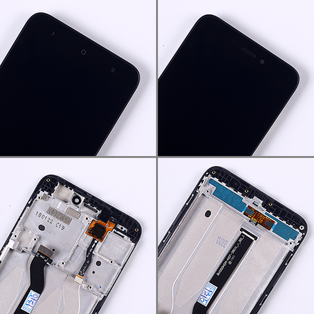 100 Tested LCD Display For Xiaomi Redmi 5A 5 0 inch Digitizer Sensor Glass Assembly touch 100% Tested LCD Display For Xiaomi Redmi 5A 5.0 inch Digitizer Sensor Glass Assembly touch screen frame with Free Tempered Glass