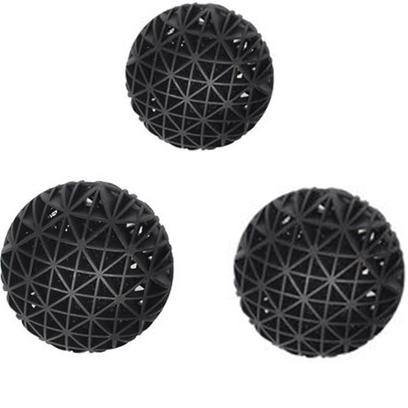 20 Pcs/lot 3 tailles Aquarium filtre Bio balles Portable humide sec coton pour pompe à Air bidon propre Aquarium étang récifs éponge médias
