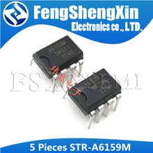 5pcs STRA6159M DIP-7 A6159 DIP7 A6159M DIP STRA6159 STR-A6159M LOW POWER OFF-LINE SMPS PRIMARY SWITCHER IC