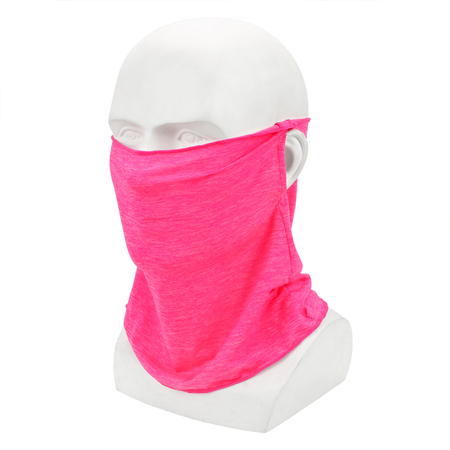 FORAUTO Ice Silk Motorcycle Face Mask Quick Dry Skin-friendly For Outdoor Cycling Fishing Sport Sunscreen Headscarf  Breathable 4