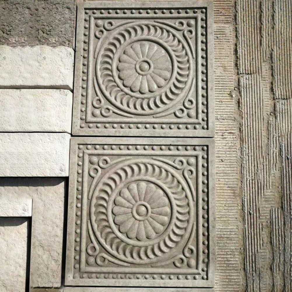 Maken Gereedschap Road Beton Mallen DIY Bestrating Casting Stepping Stone Vierkante Baksteen Antieke Landschap Yard Decor Tuin Herbruikbare