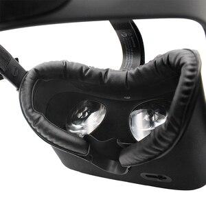 Image 3 - Pad PU หนังโฟม Comfort Facial อินเทอร์เฟซชุดทนทานจมูก Rest เปลี่ยน Eye Mask อุปกรณ์เสริมสำหรับ Oculus Rift VR ชุดหูฟัง