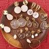 Vintage Earrings 2019 Geometric Shell Earrings For Women Girls BOHO Resin Drop Earrings Brincos Fashion Tortoise Jewelry 1