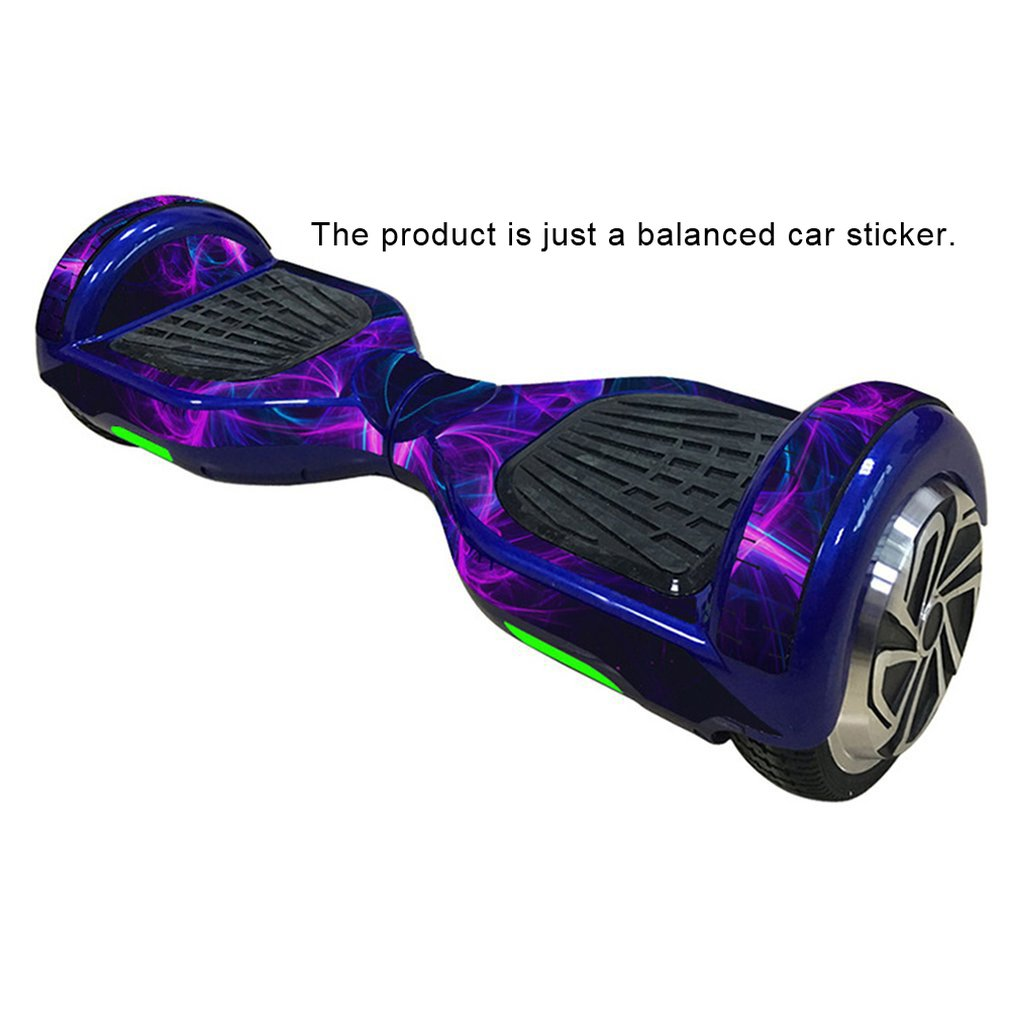 2019 Protective Vinyl Skin Decal For 6.5in Self Balancing Board Scooter Hoverboard Sticker 2 Wheels Electric Balance Car Film