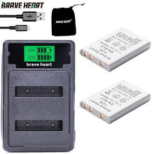 bateria batterie EN-EL5 ENEL5 En El5 Battery + LCD TYPE-C dual charger For Nikon Camera Coolpix P80 P90 P100 P500 P510 P520