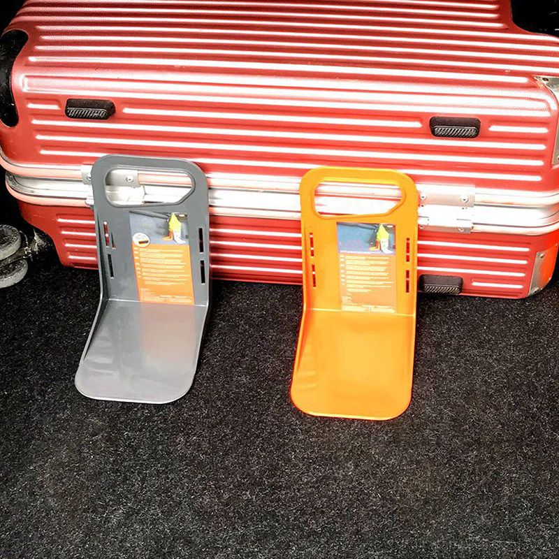 Car Trunk Plastic Car Organizer Shake-proof Box Stand Luggage Holder