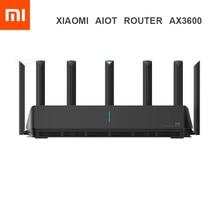شاومي AIoT راوتر AX3600 واي فاي 6 5G 600Mb ثنائي النطاق 2976Mbs جيجابت معدل كوالكوم A53 مكبر للصوت إشارة خارجية راوتر