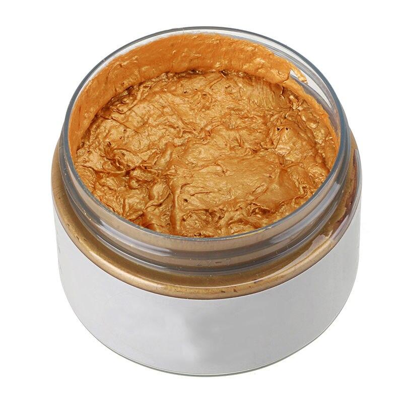 Купить с кэшбэком New 7 Colors Unisex Fashion Temporary Hair Color Wax Mud Dye Cream Non-toxic DIY Styling Hair Cream Party Crayons for Hair 120g