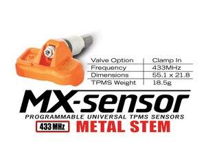 Image 2 - Autel Sensor MX Universal para programación de presión de neumáticos, herramienta TPMS, 433MHz, 315MHz, 4 Uds.