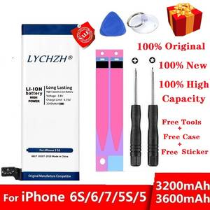 Lithium-Battery Free-Tools Internal-Phone Original 3600mah Ce for 6S 6/7/5s 5-Replacement