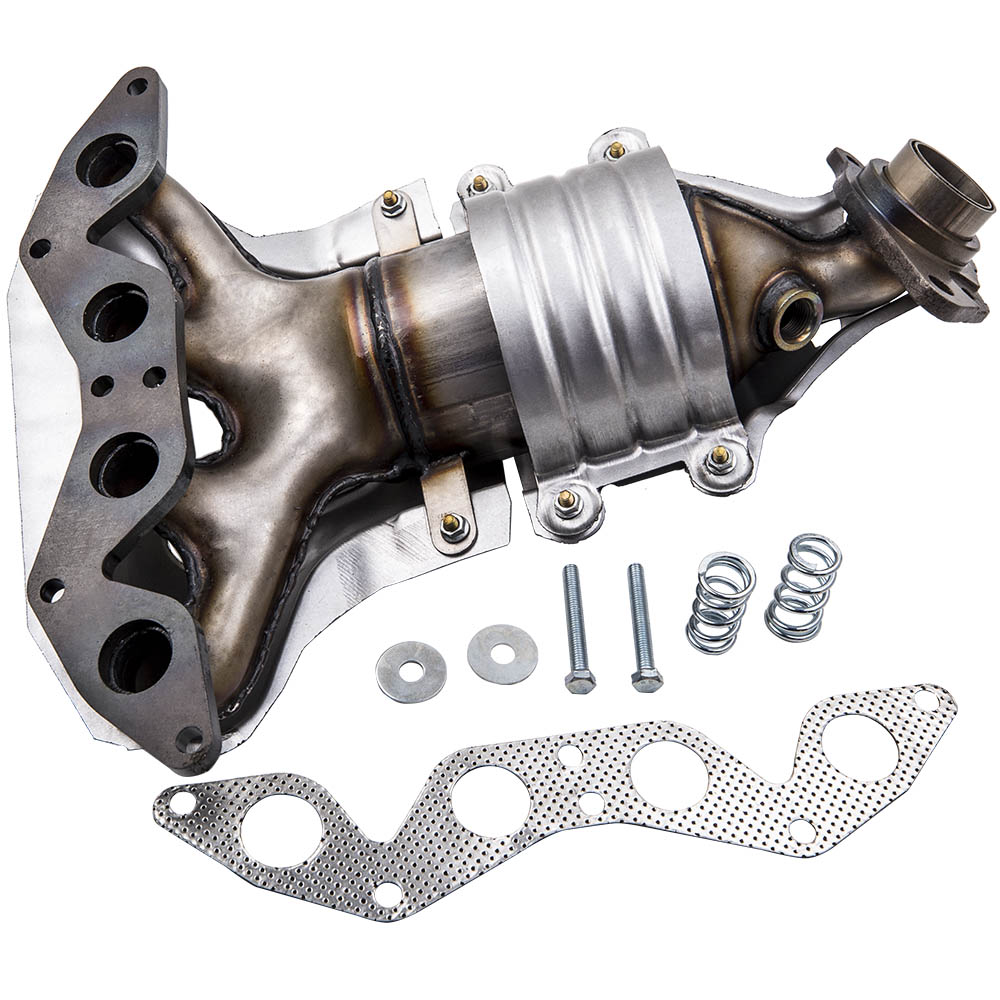 exhaust manifold catalytic converter for honda civic 1 7l l4 sohc 4 cylinder 2001 2005