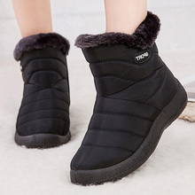 Ankle Boots For Women Boots Shoes Fur Warm Snow Boo