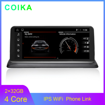 """COIKA 10.25"""" Android 10.0 System IPS Touch Screen Car GPS Stereo For BMW E81 E82 E87 E88 WIFI Google SWC BT 2+32G RAM 4G GPS"""