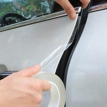 Наклейки на пороги автомобиля, Защитная Наклейка на пороги автомобиля, многофункциональная нано лента, полоса на бампер, защита двери автомобиля, устойчивые к царапинам аксессуары
