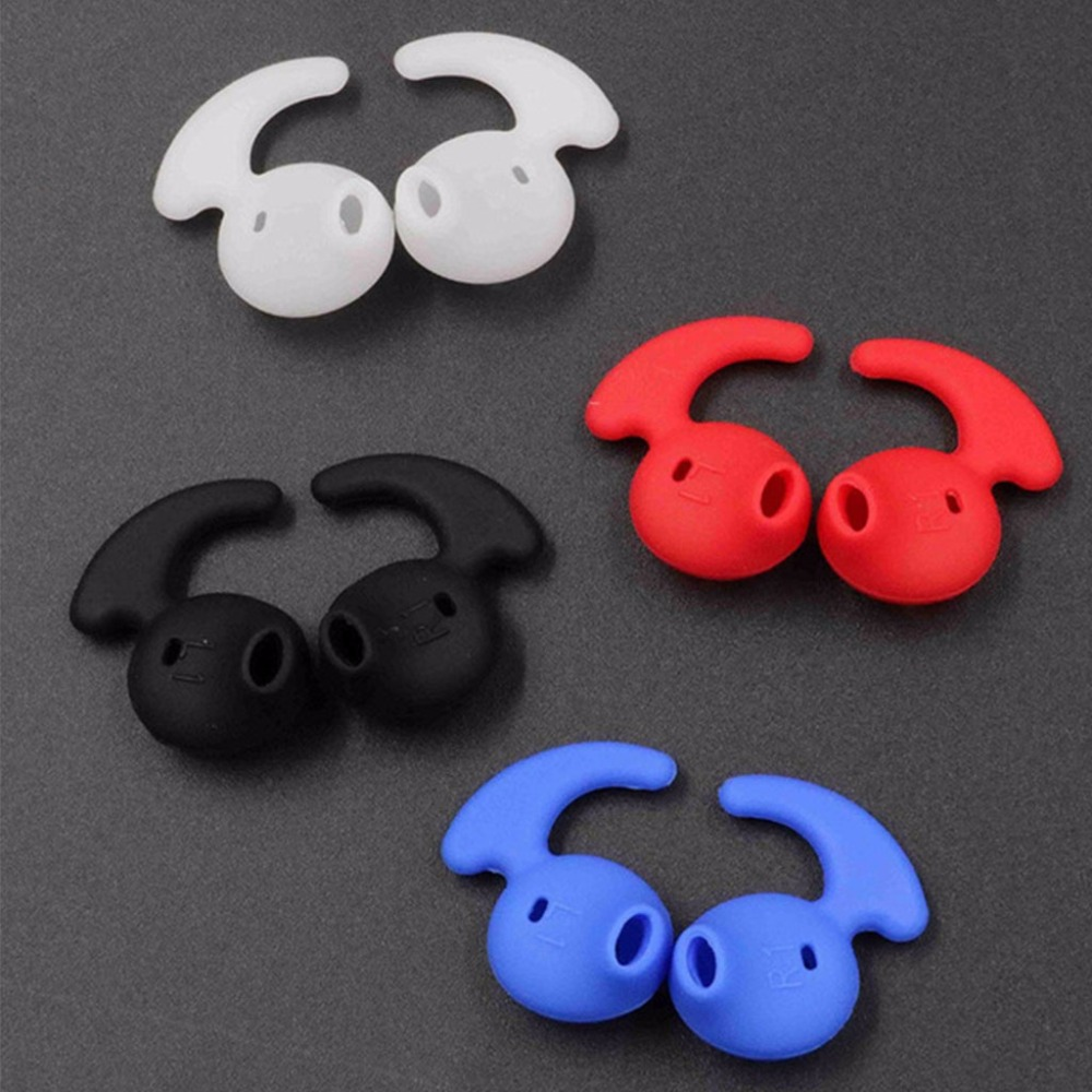 4 Pairs Eartips Accessories For Samsung Level U EO-BG920 Silicone Earphone Ear Tips Earbud
