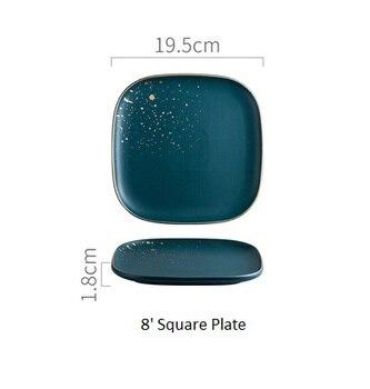 19square plate