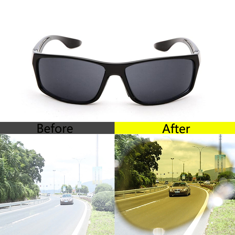 Car Driving Glasses Sunglasses Night Vision Goggles For Volkswagen Passat B5 Golf MK5 Skoda Octavia For Audi A3 A4L A5 A6L image